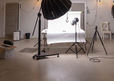 Produktfotografering i Verkstedhallen